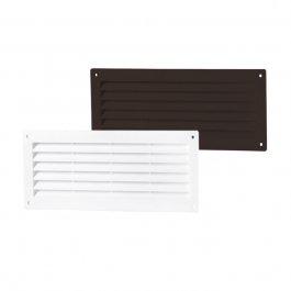 PVC Lüftungsgitter / Türluftgitter Einseitig (MV-Serie)