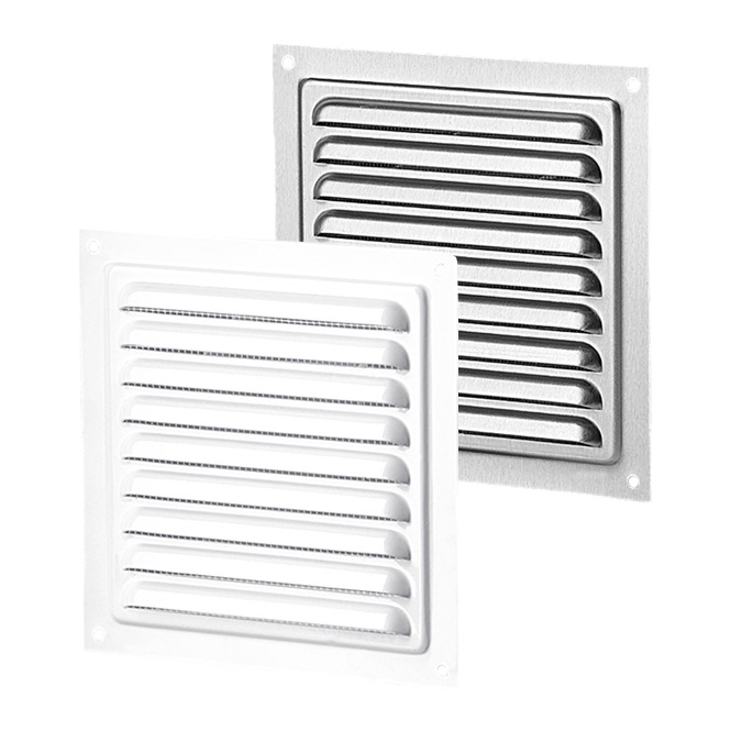 Metal Ventilation Grille with Insect Screen (MVM-series)