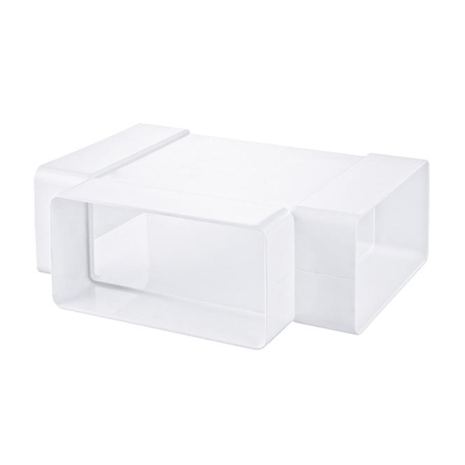 PVC Flachkanal T-Stück