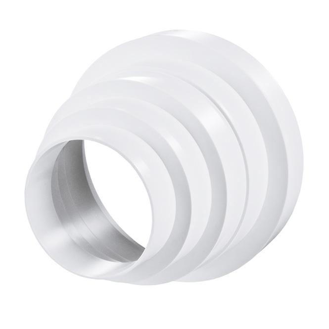 PVC Mehrfachreduzierung Rund