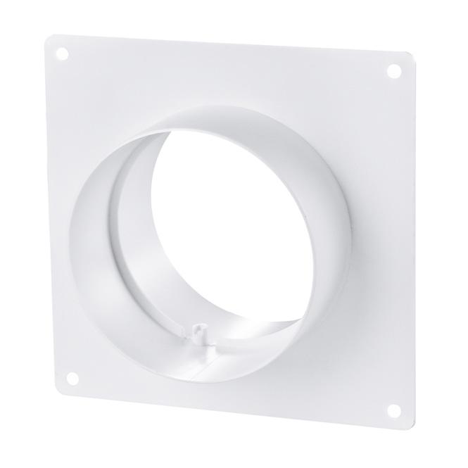 PVC Rohrverbinder mit Montagerahmen
