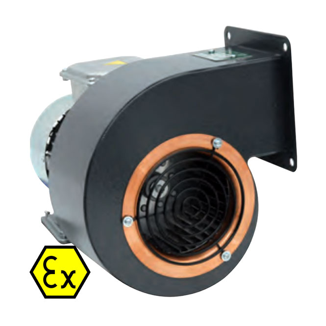 Explosion-proof centrifugal-flow fan (Series C)