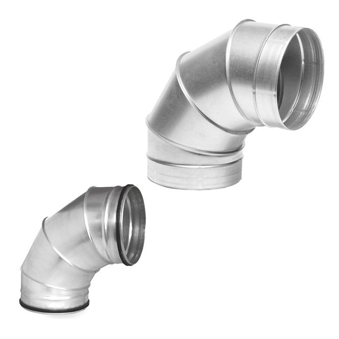 Spiral duct ° bend ventilation expert